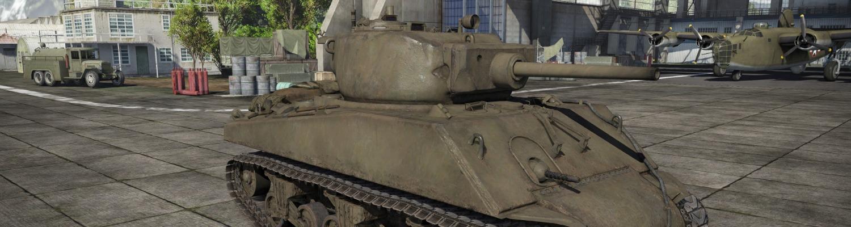 M4a3e2 Tank bg