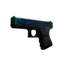StatTrak™ Glock-18 | Bunsen Burner Logo