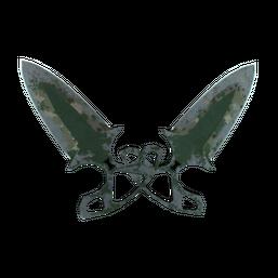 ★ StatTrak™ Shadow Daggers | Forest DDPAT Logo