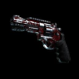 StatTrak™ R8 Revolver | Crimson Web Logo