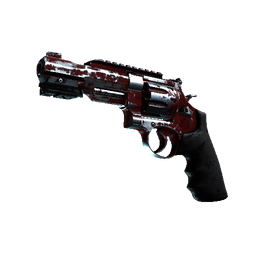 R8 Revolver | Crimson Web Logo