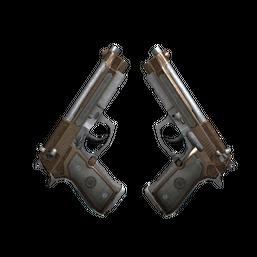 StatTrak™ Dual Berettas | Cartel Logo