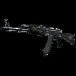 AK-47 | Emerald Pinstripe Logo