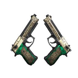 StatTrak™ Dual Berettas | Royal Consorts Logo