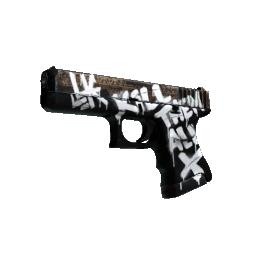 StatTrak™ Glock-18 | Wasteland Rebel Logo