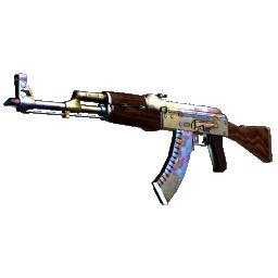 StatTrak™ AK-47 | Case Hardened Logo