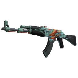 StatTrak™ AK-47 | Aquamarine Revenge Logo