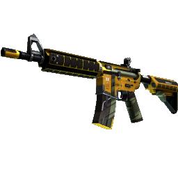 StatTrak™ M4A4 | Buzz Kill Logo