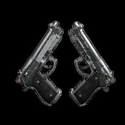 Dual Berettas | Contractor Logo