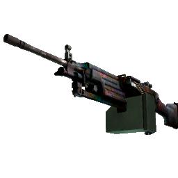 StatTrak™ M249 | Magma Logo
