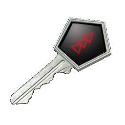 Danger Zone Case Key Logo
