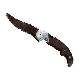 ★ StatTrak™ Falchion Knife | Rust Coat Logo