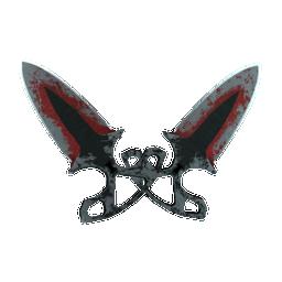 ★ StatTrak™ Shadow Daggers | Crimson Web Logo