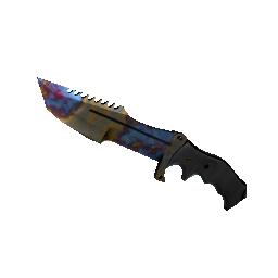★ StatTrak™ Huntsman Knife | Case Hardened Logo