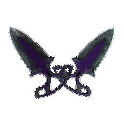 ★ StatTrak™ Shadow Daggers | Ultraviolet Logo