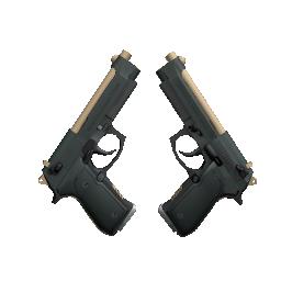 Souvenir Dual Berettas | Contractor Logo