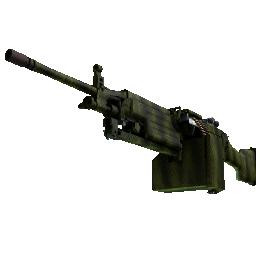 Souvenir M249 | Gator Mesh Logo