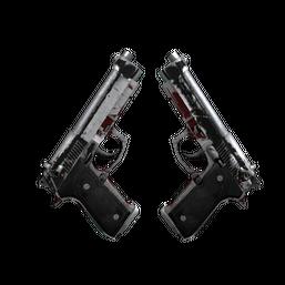 Dual Berettas | Panther Logo