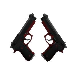 StatTrak™ Dual Berettas | Panther Logo