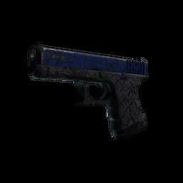 StatTrak™ Glock-18 | Blue Fissure Logo