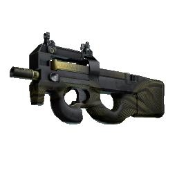 StatTrak™ P90 | Desert Warfare Logo