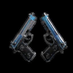StatTrak™ Dual Berettas | Urban Shock Logo
