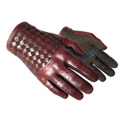 ★ Driver Gloves   Crimson Weave Logo