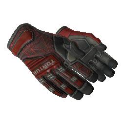 ★ Specialist Gloves | Crimson Web Logo