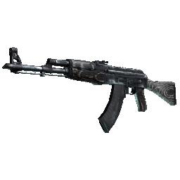 Souvenir AK-47 | Black Laminate Logo