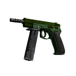 CZ75-Auto | Emerald Quartz Logo