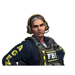 Special Agent Ava   FBI Logo