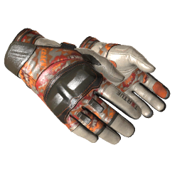 ★ Moto Gloves | POW! Logo