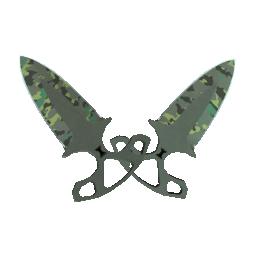 ★ StatTrak™ Shadow Daggers | Boreal Forest Logo