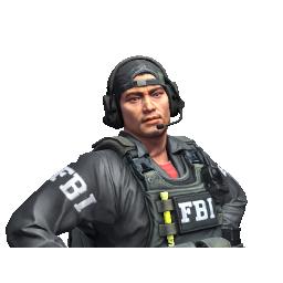 Michael Syfers  | FBI Sniper Logo