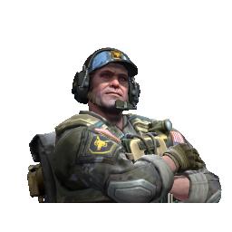 Lt. Commander Ricksaw | NSWC SEAL Logo