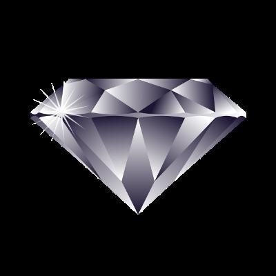 100 diamentów Logo