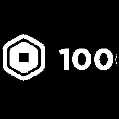 100 Robux Logo