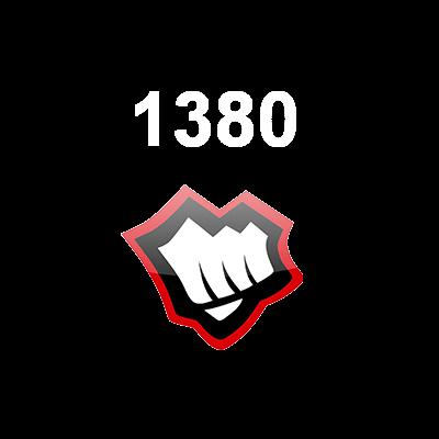 1380 Riot Points EUW Logo
