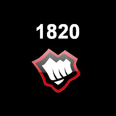 1820 Riot Points EUNE Logo
