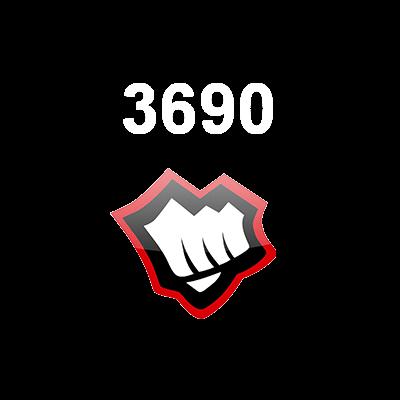 3690 Riot Points EUNE Logo