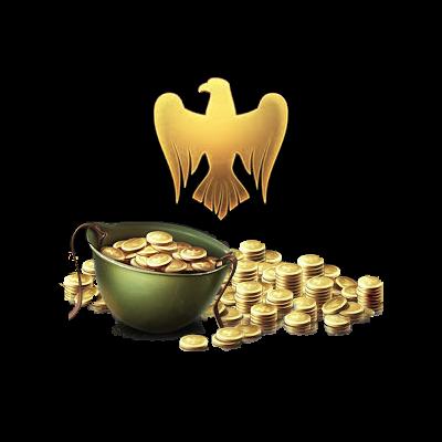 500 Golden Eagles Logo