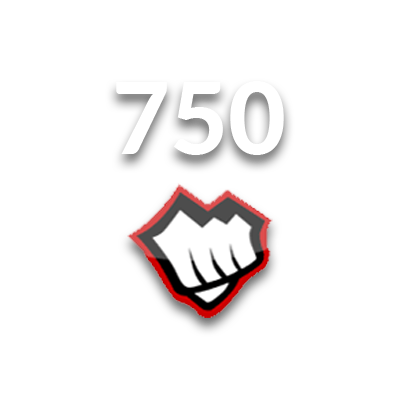 750 Riot Points EUNE Logo