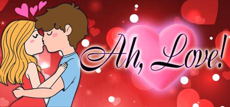 Ah, Love! Logo