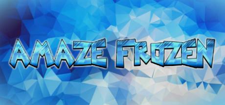 aMAZE Frozen Logo