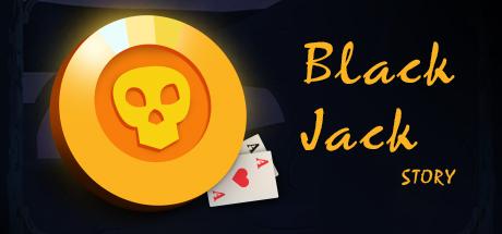 Black Jack Story Logo