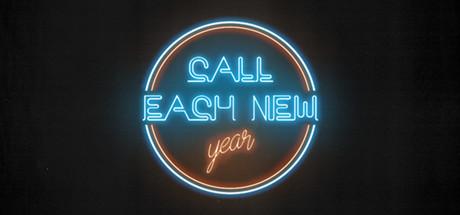 Call each NEW YEAR Logo