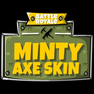 Fortnite - Minty Axe Skin Logo