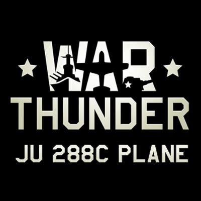 JU 288C Plane Logo