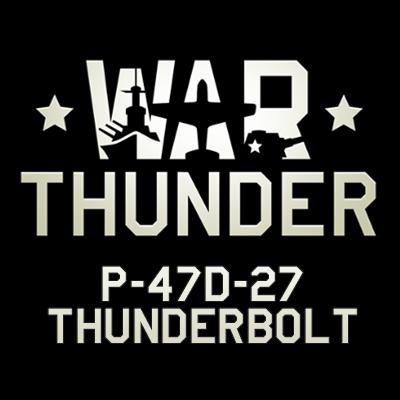 P-47D-27 Thunderbolt Logo
