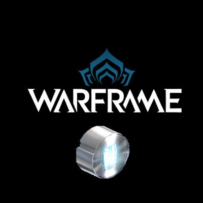 Platinum 445 (Warframe) Logo